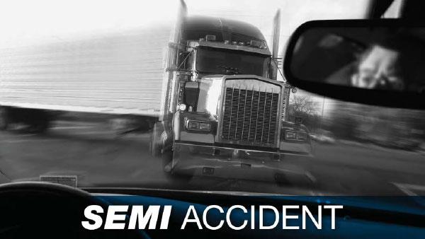 Semi Accident